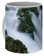 High Angle View Of A Waterfall, Sol Duc Coffee Mug