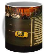 High Angle View Of Cars At A Zebra Coffee Mug