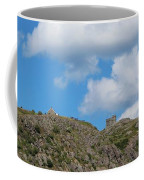 High As The Sky - Blue Sky - Cliffs Coffee Mug