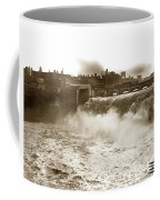 High Falls On The Genesee River Rochester New York At Flood Stage Circa 1904 Coffee Mug