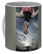 High Over The World Coffee Mug by Joana Kruse
