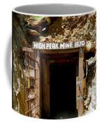 High Peak Mine Coffee Mug by Denise Mazzocco