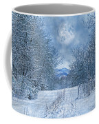 High Peak Mountain Snow Coffee Mug