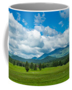 High Peaks Area Of The Adirondack Coffee Mug