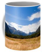 High Peaks Of Eglinton Valley In Fjordland Np Nz Coffee Mug