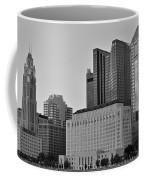 Columbus Close Up Black And White Coffee Mug