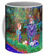 High Satch Scarecrow In A Hat Coffee Mug