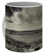 High Tide Of The Confederacy Black And White Coffee Mug