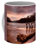 High Water On The Wolf River Coffee Mug