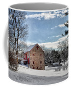 Highland Farms In The Snow Coffee Mug