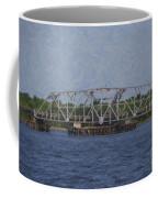 Highway 41 Swing Bridge Over The Wando River Coffee Mug