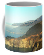 Highway One Bixby Bridge Close Coffee Mug by Barbara Snyder