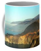 Highway One Bixby Bridge Watercolor Coffee Mug