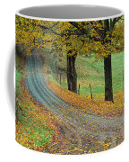 Highway Passing Through A Landscape Coffee Mug
