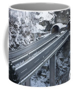 Higway Tunnel With A Bridge Coffee Mug