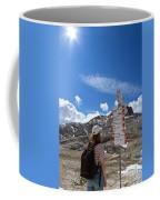 Hiker Find The Way Coffee Mug