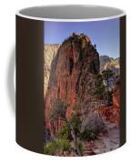 Hiking Angels Coffee Mug by Chad Dutson