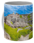 Hiking In The Badlands Coffee Mug
