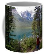 Hiking On Emerald Lake Trail In Yoho Np-bc Coffee Mug