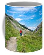 Hiking On Savage River Trail In Denali Np-ak    Coffee Mug