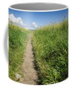 Hiking Path In Devon England Coffee Mug