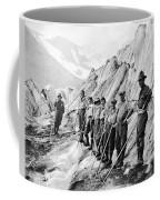 Hiking Up Mt. Rainier Coffee Mug