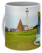 Hill Lighthouse Built In 1861 And Donkin Memorial Pyramid Honoring The Wife Of Sir Rufus Donkin-sout Coffee Mug