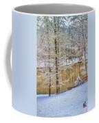 Hillside Snow - Winter Landscape Coffee Mug