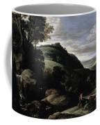 Hilly Landscape Coffee Mug