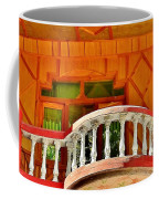 A Beautiful Balcony - Himalaya India Coffee Mug