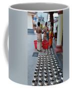 Hindu Priests Prepare Offering To Gods Coffee Mug