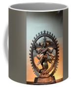 Hindu Statue Of Shiva In Nataraja Dance Pose Coffee Mug