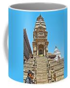 Hindu Temples In Bhaktapur Durbar Square In Bhaktapur-nepal Coffee Mug