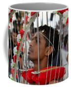 Hindu Thaipusam Festival Pierced Devotee In Singapore Coffee Mug