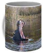 Hippo Yawning Coffee Mug