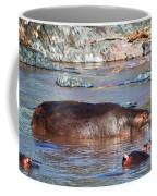 Hippopotamus In River. Serengeti. Tanzania Coffee Mug