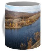 Historic Alaska Gold Dredge In Fall Coffee Mug