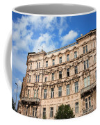 Historic Apartment House In Budapest Coffee Mug