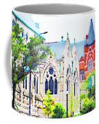 Historic Churches St Louis Mo - Digital Effect 7 Coffee Mug