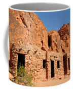 Historic Civilian Conservation Corps Stone Cabins In The Valley Of Fire Coffee Mug