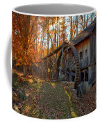 Historic Grist Mill With Fall Foliage Coffee Mug
