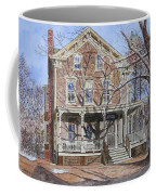 Historic Home Westifled New Jersey Coffee Mug by Anthony Butera