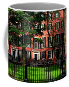 Historic Homes Of Beacon Hill, Boston Coffee Mug