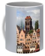 Historic Houses In Gdansk Coffee Mug