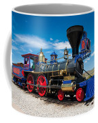 Historic Jupiter Steam Locomotive - Promontory Point Coffee Mug by Gary Whitton