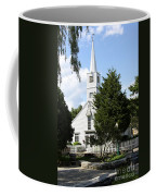 Historic Mystic Church - Connecticut Coffee Mug