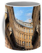 Historic Tenement Houses In Budapest Coffee Mug
