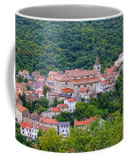 Historic Town Of Bakar In Green Forest Coffee Mug