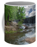 Historic Yates Mill Dam - Raleigh N C Coffee Mug