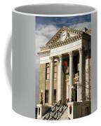 Historical Athens Alabama Courthouse Christmas Coffee Mug